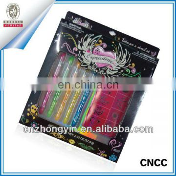 High quality Body art Glitter tattoo kit(ZY4-1007)