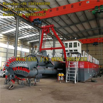 River Sand Dredging Machine 550 Mm Diam Diam Large Capacity