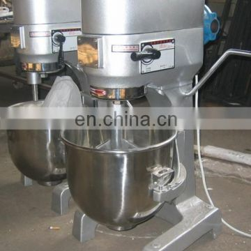 Hot sale applicable for bakeries and restaurants egg breaking machine flour mixer with three types of stirrer