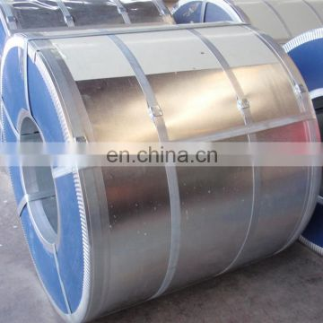 Shandong supplier GI galvanized steel coil for steel structure