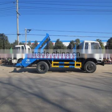 170hp 4*2 DONGFENG 8m3 Skip Loader Refuse Truck