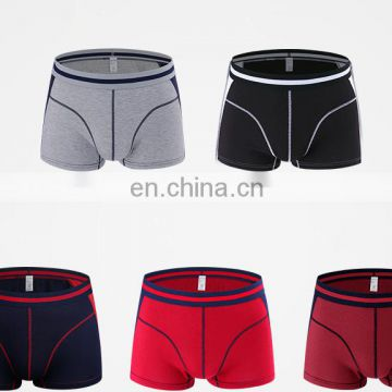 Hot selling sexy man thick cotton boxers free sample men underwear