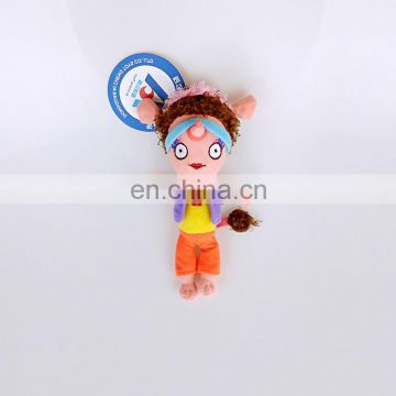 new products custom handsome gril doll plush cartoon figure toy