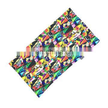 Comfortable Lattice Beautiful flowers Hair Wrap Bandana