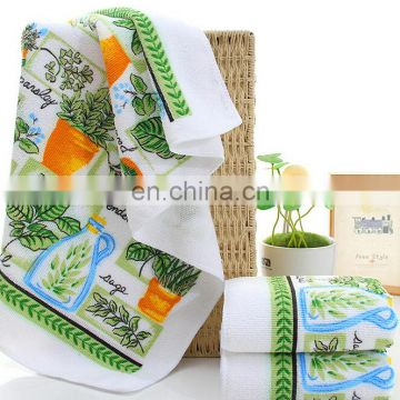 Wholesale Promotional Christmas Gift Cotton Kitchen Towel