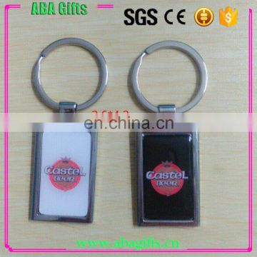 promotional photo frame metal keychain
