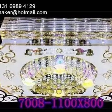 Chinese manufacturer crystal lamp,Chandelier,LED light with bluetooth and MP3