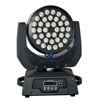 Zoom stage lighting 36x10w led moving head wash light