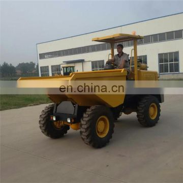 Hot Sell China 5ton Wheel Site Dumper Truck for Export