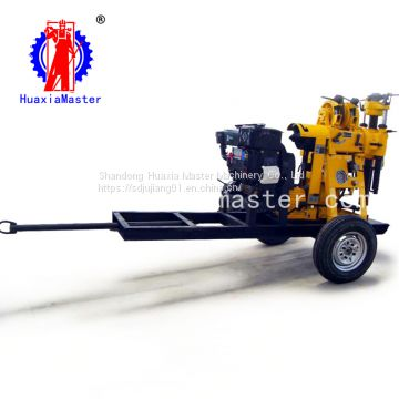 XYX-130 wheeled hydraulic water well drilling rig