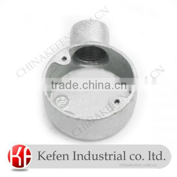 BS4568 electrical wiring accessories & malleable iron pipe fittings & 32mm terminal circular box