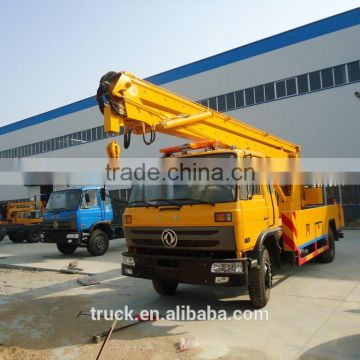 22m vehicle mounted aerial work platform, high alititude aerial working truck, high lifting platform truck