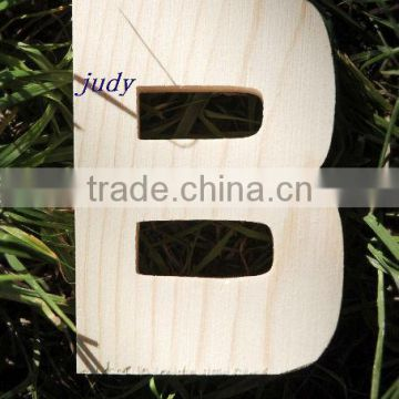 Decorative Small Wooden Craft Alphabet Letters Wholesale Of 10