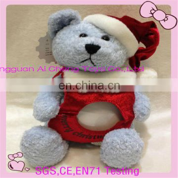 Supply high quality stuffed teddy bear photo frame
