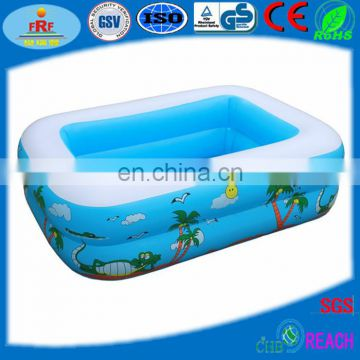 Two Layer Tubes Inflatable Baby Bath Pool