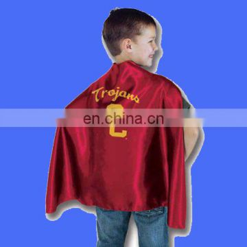 Factory directly sell customized superhero cape avaliable with any logo