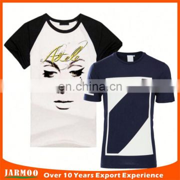 wholesale customized cool black t shirt