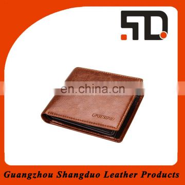 Manufactue Hot Sale Human Genuine Leather Wallet with Low Price