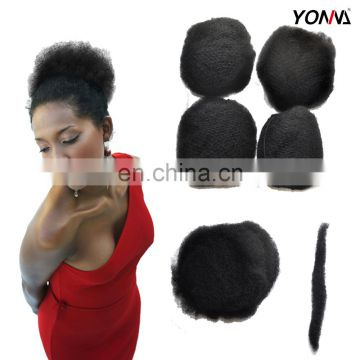 Wholesale Natural Color 100% Peruvian Human Hair Bulk Afro Kinky Curly Hair Bulk for Braiding