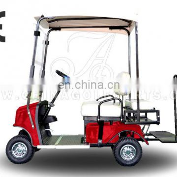 AX-A3-7 single seater Golf Cart electric, classic designer Golf Electric Cart with CE certificate