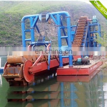 Customized Boat River Dredging and Mining Vessel