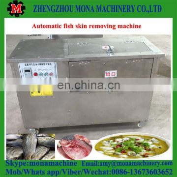 Good performance and low price fish sliver carp gutting machine