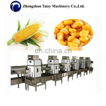 waxy corn frozen sweet corn kernel removing machine