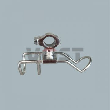 Stainless steel boat accessories marine ship rail mount rod holders boat rod holders