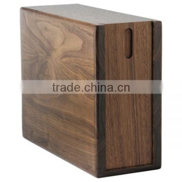 Special design wooden urns for ashes prices cheap insert up and down