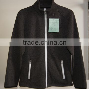 Men's full zipper jacket