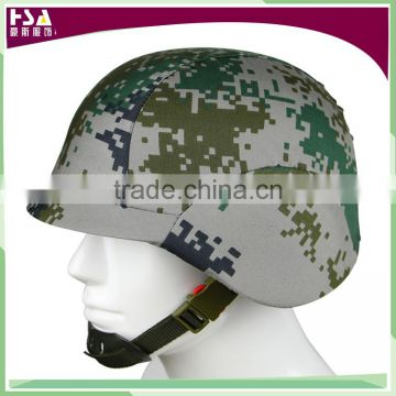 High quality ABS material camouflage military helmet