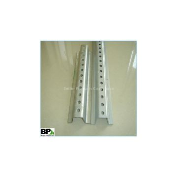 perforated u channel sign post with cheap price
