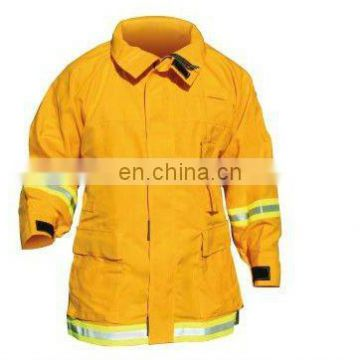 Crew Boss Interface Wildland/Urban Coat with 6.0 oz Nomex IIIA - Yellow