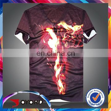Latest design color changing t shirt slim fit blank t-shirt