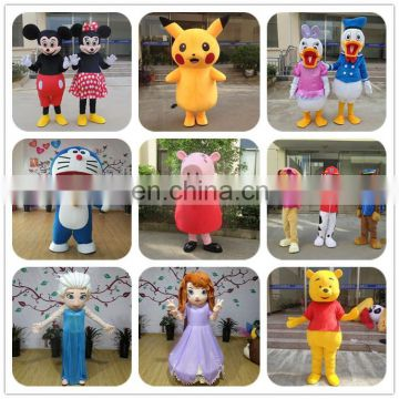 Party popular cartoon character mascot costume