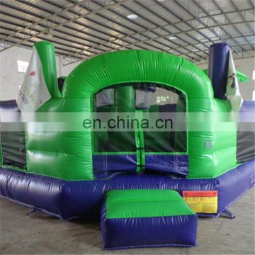 2017 high quality Promotional unique PVC inflatable fun city for kids