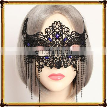 Half Face Mask Women Party Mask Sexy Lace Mask
