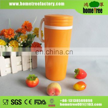 2015 new BPA free plastic juice cup 400ml