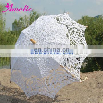 Vintage Style assorted colors lace umbrella