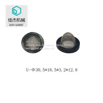 Jiajie rubber wrapping filter mesh gasket