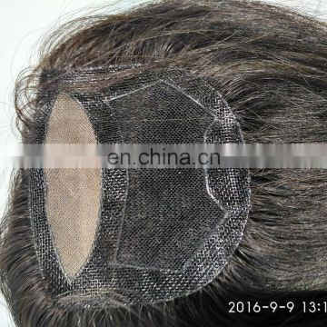 New arrival high quality factory price 100%human hair toupee