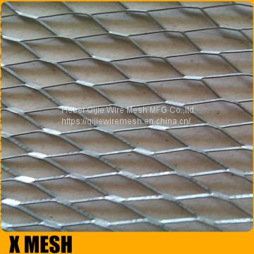 Spray Rib Lath 1/8'' Retaining Walls Construction Wire Mesh Metal Rib Lath