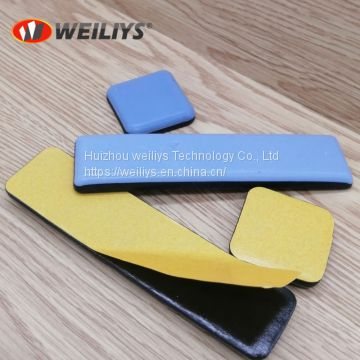 Adhesive teflon furniture glides