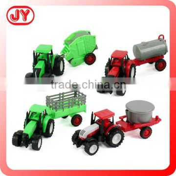 Farm free wheel plastic toy truck for kids