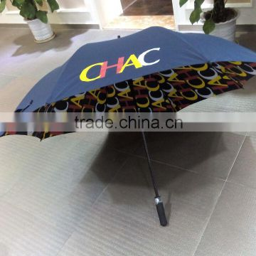 beauty printing windproof double layer umbrella