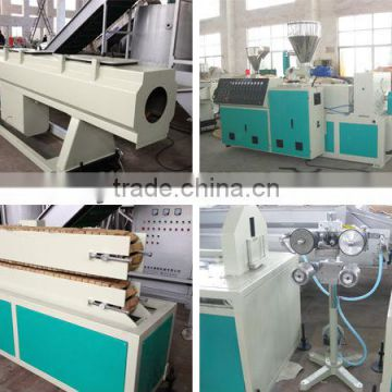 best china factory Pvc electrical conduit pipe machine