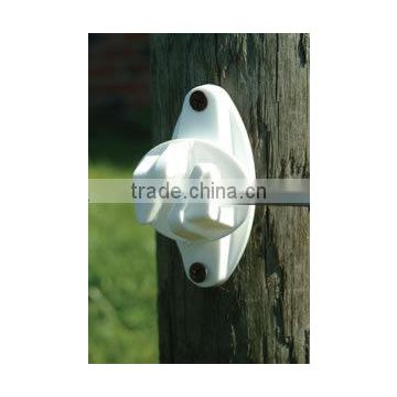 Fentech hot line electric fence wood post jaw claw insulator