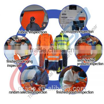 Water proof anti-static fire repellent teflon clothing of FR