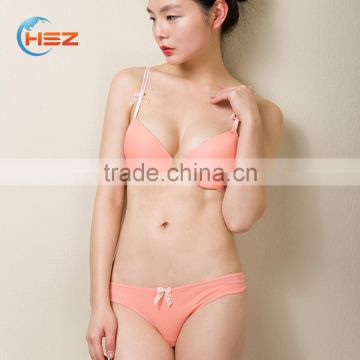 3f932962e38d8 HSZ-5001 Wholesale High Quality Women Underwear Pink Sexy Fancy Bra Panty  Set for Women of Bra sets from China Suppliers - 144707274