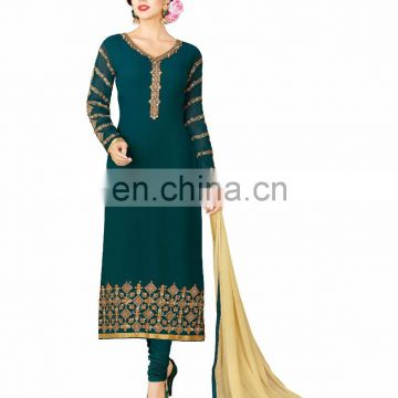 Dubai Ethnic Wear Salwar Kameez / Pakistani Dress Material Salwar Suits Collection 2017 High Quality Salwar (salwar kameez Suit)